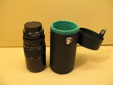 MAKINON 80-200mm F 3.5 multi coated lens for PENTAX PK mount cameras with case