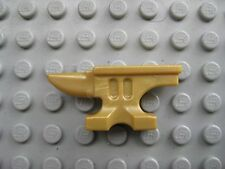 Lego Custom ANVIL -Gold- Minifigure Accessory Castle Blacksmith LOTR Forge