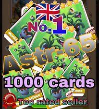 Coin Master :-) 1000 Martian Lettuce Card- Ultra Fast Sending- Coin Master Cards