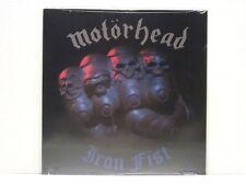 MOTORHEAD IRON FIST LP 1982 SEALED U.S. 180 GRAM REPRESS LEMMY FAST EDDIE CLARKE