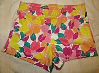 Gymboree Mix N Match Flower Floral Knit Shorts Size M Medium 7-8 7 8