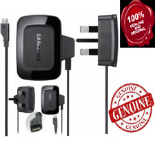 Genuine SAMSUNG MAINS CHARGER FOR GALAXY PHONES S2 S4 S6 S3 S2 J7 J5 J3 ALPHA