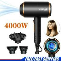 4000W Salon Hair Dryer Hair Negative Ionic High Power Hair Blower Quick-drying