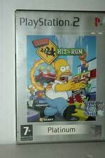 THE SIMPSONS HIT & RUN USATO SONY PS2 EDIZIONE ITALIANA PLATINUM ML3 43266