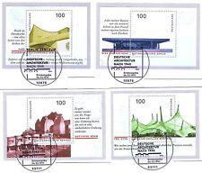 BRD 1997: Architektur Blockmarken Nr.1906-1909  mit den Berliner Stempeln! 1802
