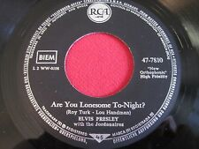 ROCK 45 - ELVIS PRESLEY - ARE YOU LONESOME TONIGHT? - RCA GERMANY 47-7810