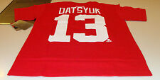 Detroit Red Wings Pavel Datsyuk S Reebok Name Number Team Logo T Shirt Hockey