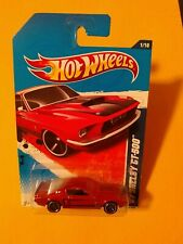 Hot Wheels 2011 Muscle Mania '67 Shelby GT-500 Red MC5 #101