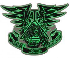 "SMA / SANTA CRUZ - Natas Panther - Glow in the dark Skateboard Sticker - 4.5"""