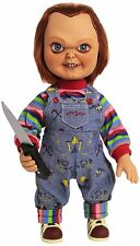 """Chucky Action Figure 15"""" Childs Play Talking SNEERING Chucky Doll Mezco Toys"""