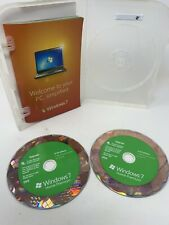 Microsoft Windows 7 Home Premium Upgrade 32 Bit and 64 Bit DVDs w/ Product Key