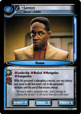 Star Trek 2E: Santos, Squad Leader [Lightly Played] Reflections 2.0 STCCG Deciph