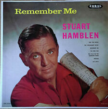 STUART HAMBLEN - REMEMBER ME - CORAL 57254 - MONO LP - MAROON LABEL