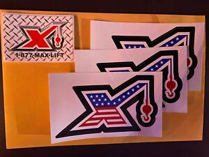 Maxim Crane Stickers