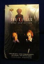 2018 Upper Deck X-Files UFO's & Aliens Factory Sealed Card Box