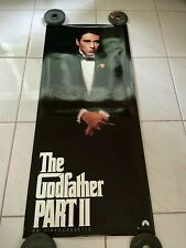 The Godfather Part Ii 2 Movie Poster Al Pacino Video Door Panel 16.5 x 36.5