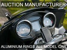 BMW K1300 GT K 1300 09-12 Polished Aluminium Chrome Gauge Trim Rings 2pcs
