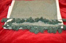 Threshold Beautiful Green Woven Chevron Table Runner 14 x 72 Brand New