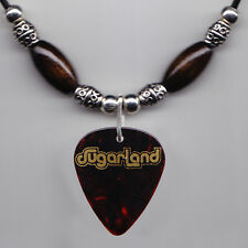 Sugarland Umbrella Brown Guitar Pick Necklace - 2009 Tour