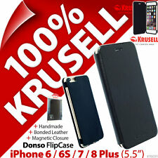 """Krusell Donso Flip Case Cover Folio for Apple iPhone 6 / 6S / 7 / 8 Plus (5.5"""")"""