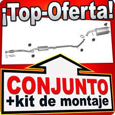 Kia Picanto 1.0 1.1 12V 45/46/48 KW 2004-2011 Silencioso Silenciador 988