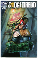 JUDGE DREDD #2 B, NM, IDW,  2012, Sci-fi, Police, I am the Law, more in store