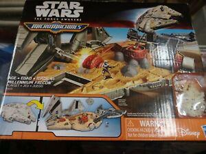 Hasbro Disney Star Wars The Force Awakens Micro Machines Millennium Falcon New