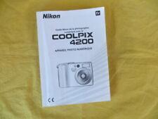 NIKON Coolpix 4200 - mode d'emploi