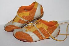 Diesel Babs  Casual Shoes/Sneakers, #13790, Org/Yell/Wht, Leather, Women's 8.5