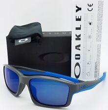 GENUINE Oakley Chainlink Sunglasses OO9247-05 Matte Grey Frame W/ Ice Iridium