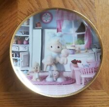Enesco Precious Moments Collector Plate - The Joy Of The Lord Is My Strength