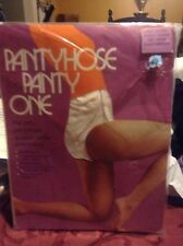 Exiting! Vintage Panty One nude pantyhose size small / medium