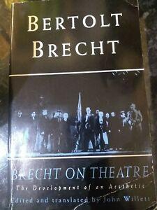 Brecht On Theatre - Bertolt Brecht (1994)