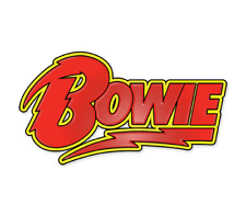 David Bowie ¨Bowie¨ Band Enamel Pin - New