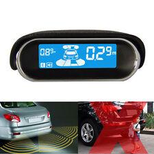 LCD Display Car Reverse Parking Sensor Front Rear 8 Sensors Buzzer Radar Alarm