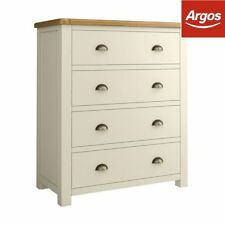 Antique Style More than 200cm 4 Chests of Drawers