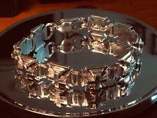 King Baby Iron Cross Bracelet 925 Silver