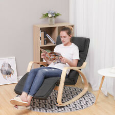 Schaukelstuhl Schwingsessel Relaxstuhl Schwingstuhl Ruhesessel bis 150 kg LYY10G