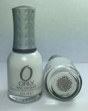 ORLY Nail Polish * White Out 40632 French Manicure Lacquer * Full Size 0.6 oz
