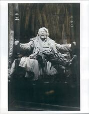 1984 Stage Actor Frank Galati in A Christmas Carol Press Photo