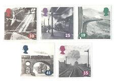 Steam trains-Railways mnh set (Great britain) 5