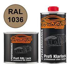 RAL 1036 Perlgold Perl Autolack glänzend Dose inkl. Klarlack 1,0 Liter / 1000 ml