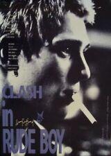 RUDE BOY Japanese B2 movie poster R96 CLASH JOE STRUMMER PAUL SIMONON VERY RARE