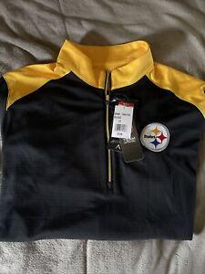 Pittsburgh Steelers Quater Zip L