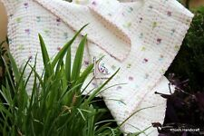 Assorted 5 Pcs Baby Quilt Lot Handmade Spoon Flower Squire Size Blanket DeerBoho