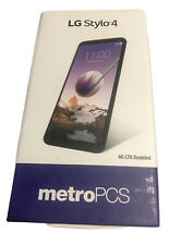 LG Stylo 4 - 32GB - Aurora Black (METRO PCS) Q710MS (CDMA+GSM)