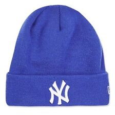 Topshop NY Badged New Era York Yankees Blue Slogan Beanie Hat BNWT RRP £18 Logo