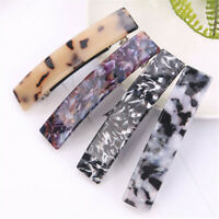 Fashion Leopard French Hair Clip Barrette Bobby Pin Hairpin Accessories Girl