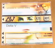 [AB-291] CD - DELTA V - UN'ESTATE FA - SUMMER ENDING - 2001 BMG - OTTIMO