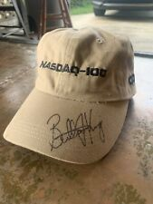 Billie Jean King Autographed Hat Nasdaq 100 Rare Hall Of Fame